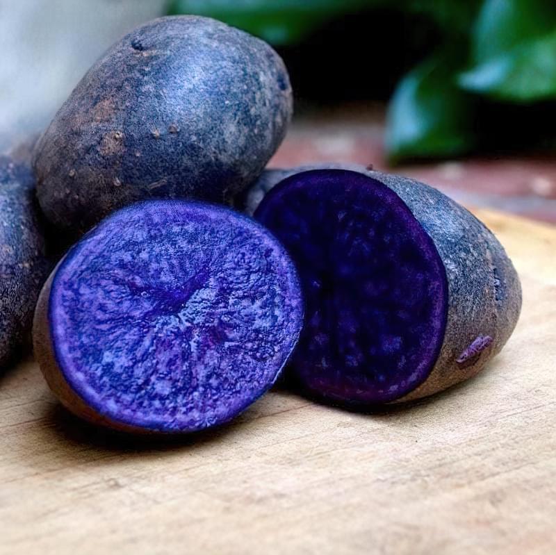 Як виростити фіолетову картоплю в себе на городі? 1