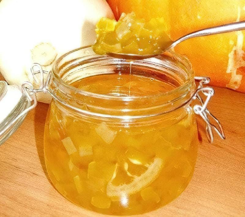 Варення з яблуками, гарбузом і лимонами