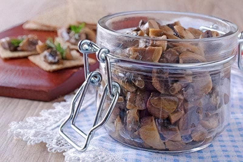 Рецепти апетитних смажених грибів на зиму 1