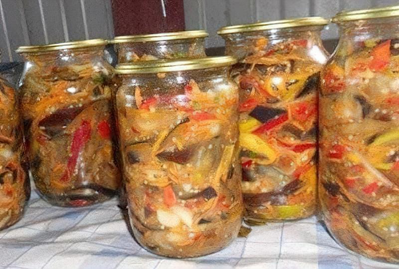 Самі смачні і прості рецепти баклажанів по-корейськи на зиму 1
