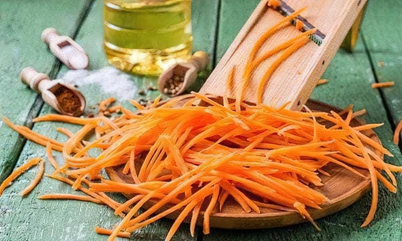 Рецепт моркви по-корейськи без варіння