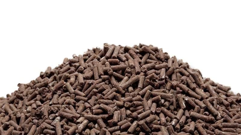 У сухому посліді концентрація поживних речовин в 3 рази вище, ніж в сирому