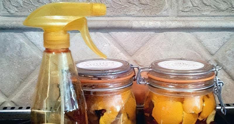 Засіб для чищення з апельсинових кірок