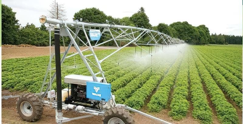 Використання дощувальних установок в обробці грунту 1