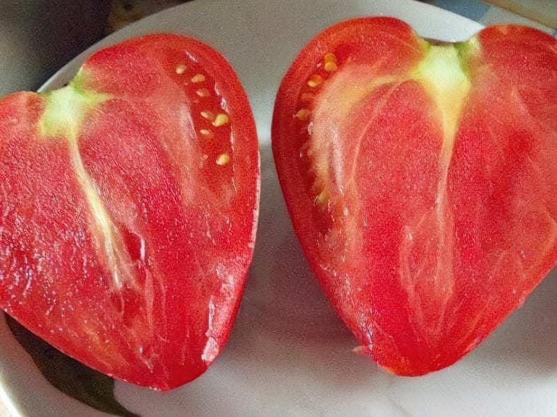 Томат Рожеве серце: непоганий салатний сорт 3