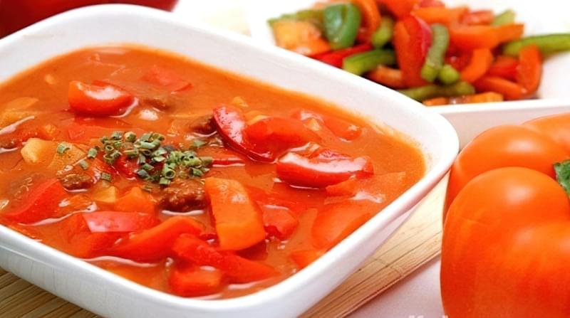 Лечо з перцю і помідор - класичний рецепт заготовки на зиму 5