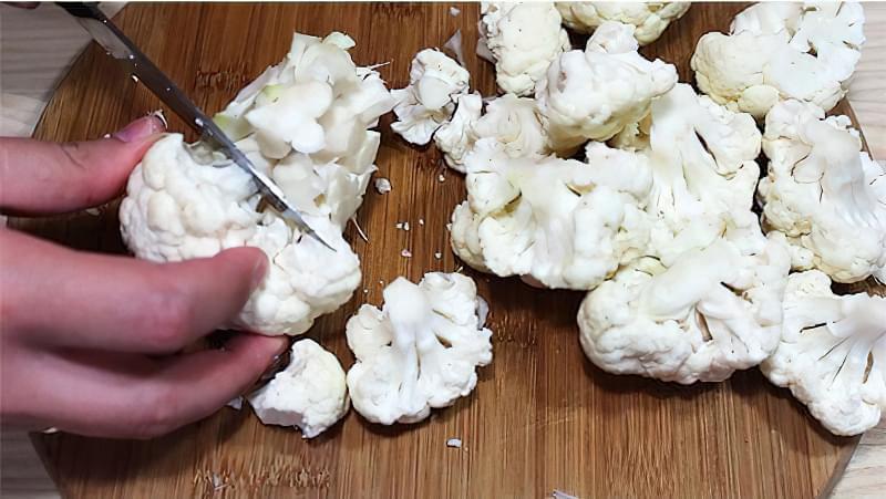 Лечо з цвітної капусти, або овочева ікра - смачна заготовка на зиму 2