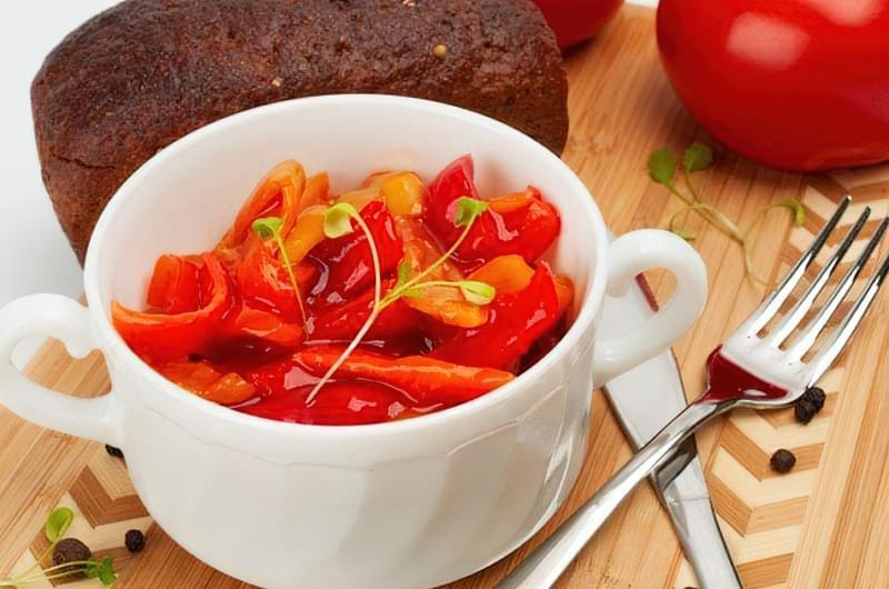 Лечо з томатною пастою