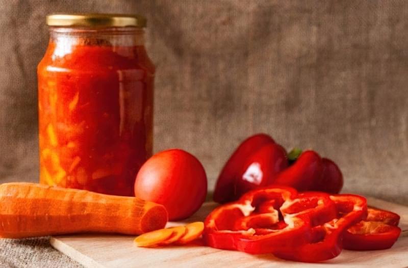 Лечо з томатною пастою: 4 відмінних рецепта зимових заготовок 2
