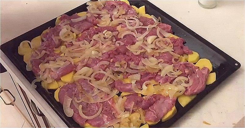 М'ясо по-французьки зі свинини в духовці - 5 класичних рецептів м'яса по-французьки 6