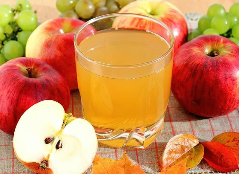 Яблучний сік на зиму без цукру 1