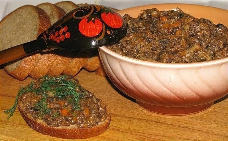 Грибна ікра з опеньків на зиму — найсмачніші рецепти приготування ікри з опеньків 1
