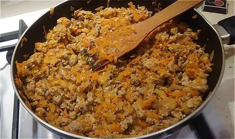 Картопляна запіканка з фаршем в духовці – покрокові рецепти запіканки з картоплі і фаршу 2