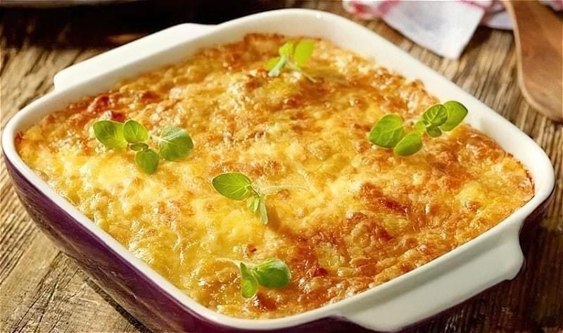 Картопляна запіканка з фаршем в духовці – покрокові рецепти запіканки з картоплі і фаршу 1