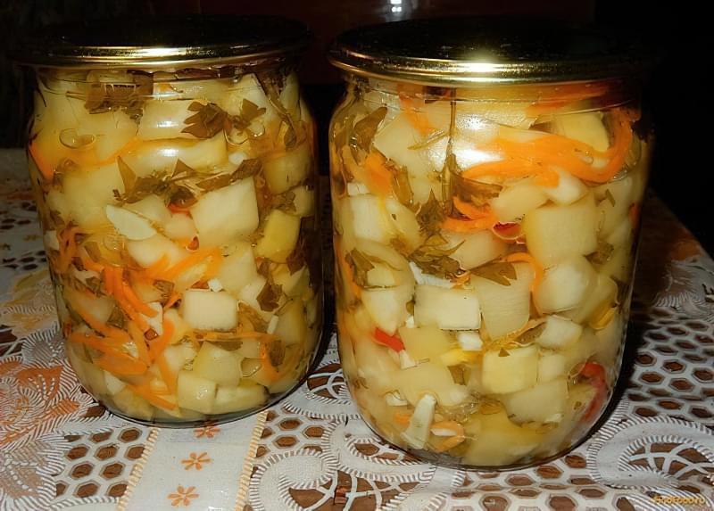 Рецепт закрутки гострих кабачків на зиму 1