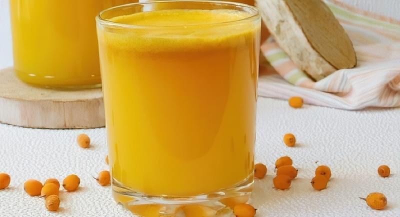 Рецепти приготування обліпихового соку на зиму 8