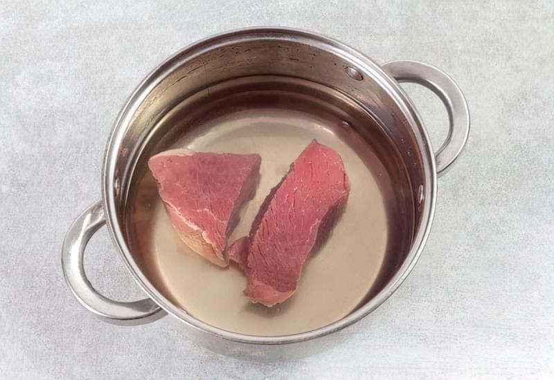Картопляна запіканка з вареним м'ясом 2