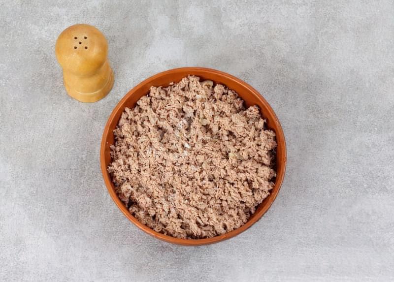 Картопляна запіканка з вареним м'ясом 4