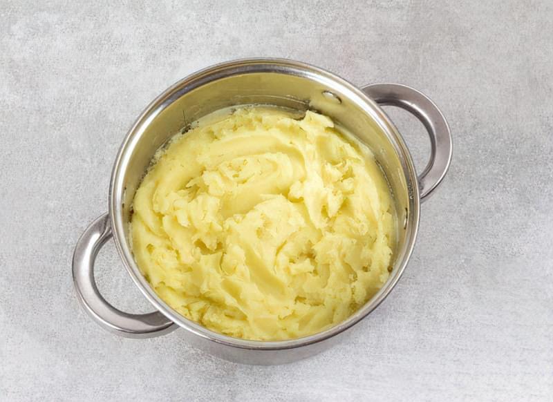 Картопляна запіканка з вареним м'ясом 6