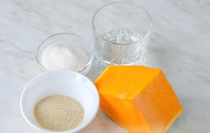Рецепт смачного желе з гарбуза 1