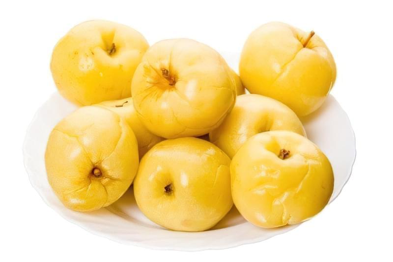 Солоні яблука на зиму