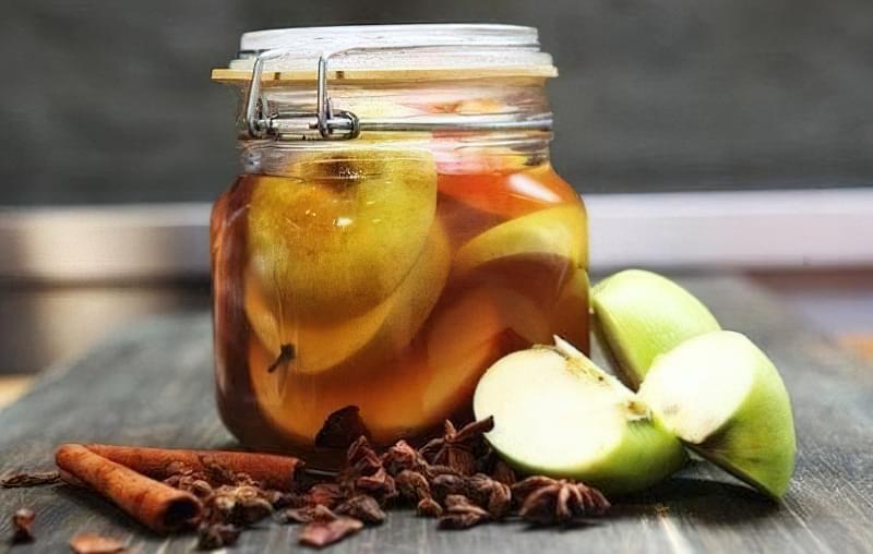 6 рецептів приготування маринованих яблук на зиму 1