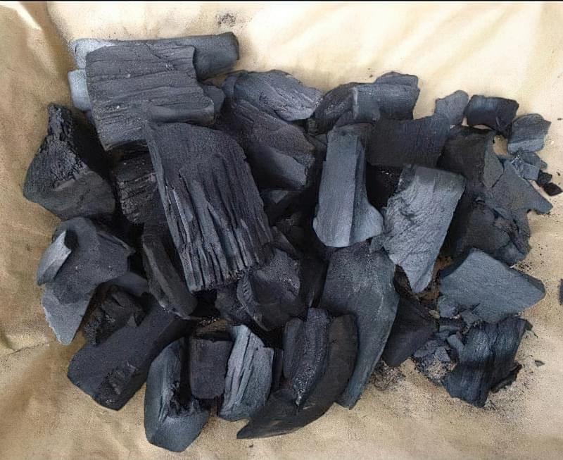 Деревне вугілля для кімнатних рослин 1