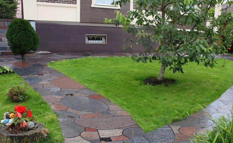 Каміння в ландшафтному дизайні - всі варіанти застосування 5