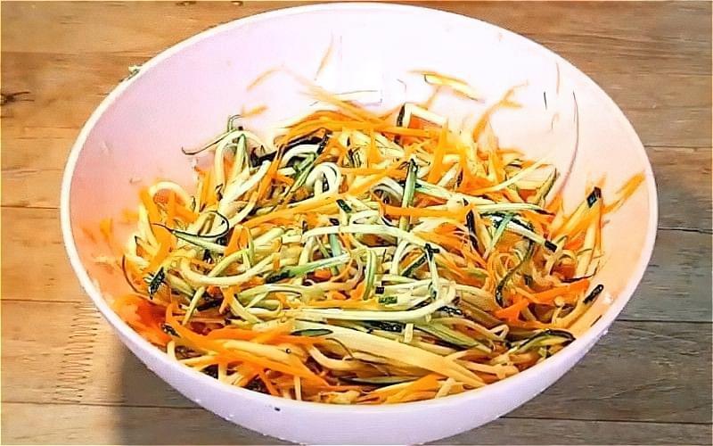 Кабачки по-корейськи - різні смачні рецепти 12