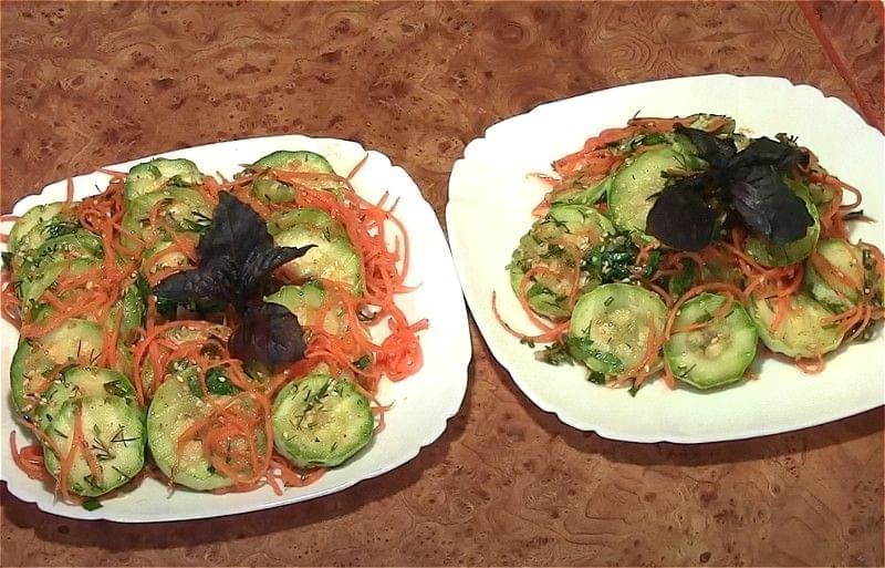 Кабачки по-корейськи - різні смачні рецепти 7