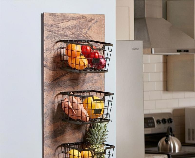 Оригінальні ідеї зберігання овочів і фруктів на кухні 4