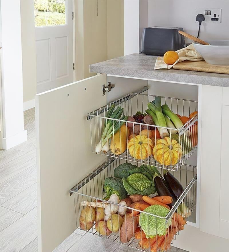 Оригінальні ідеї зберігання овочів і фруктів на кухні 5