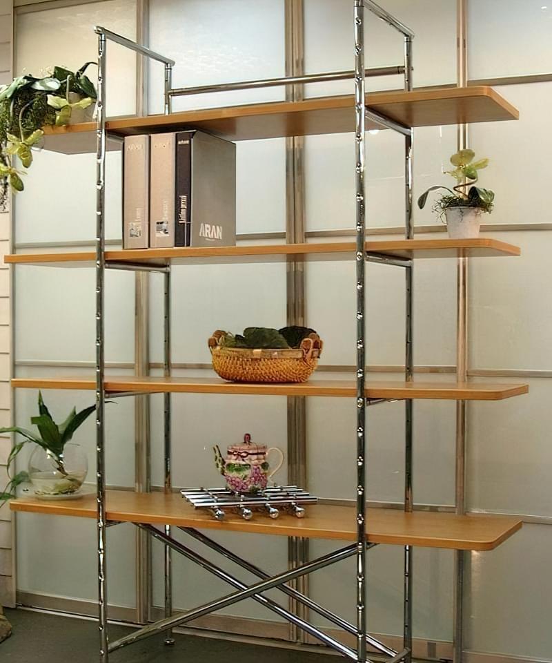 Стелажі і полиці для кімнатних рослин: види та приклади 3