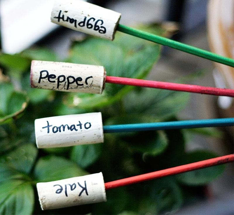 Садово-городні маркери своїми руками 1