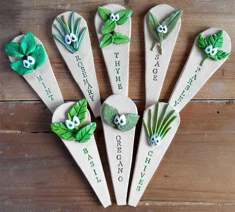 Садово-городні маркери своїми руками 5