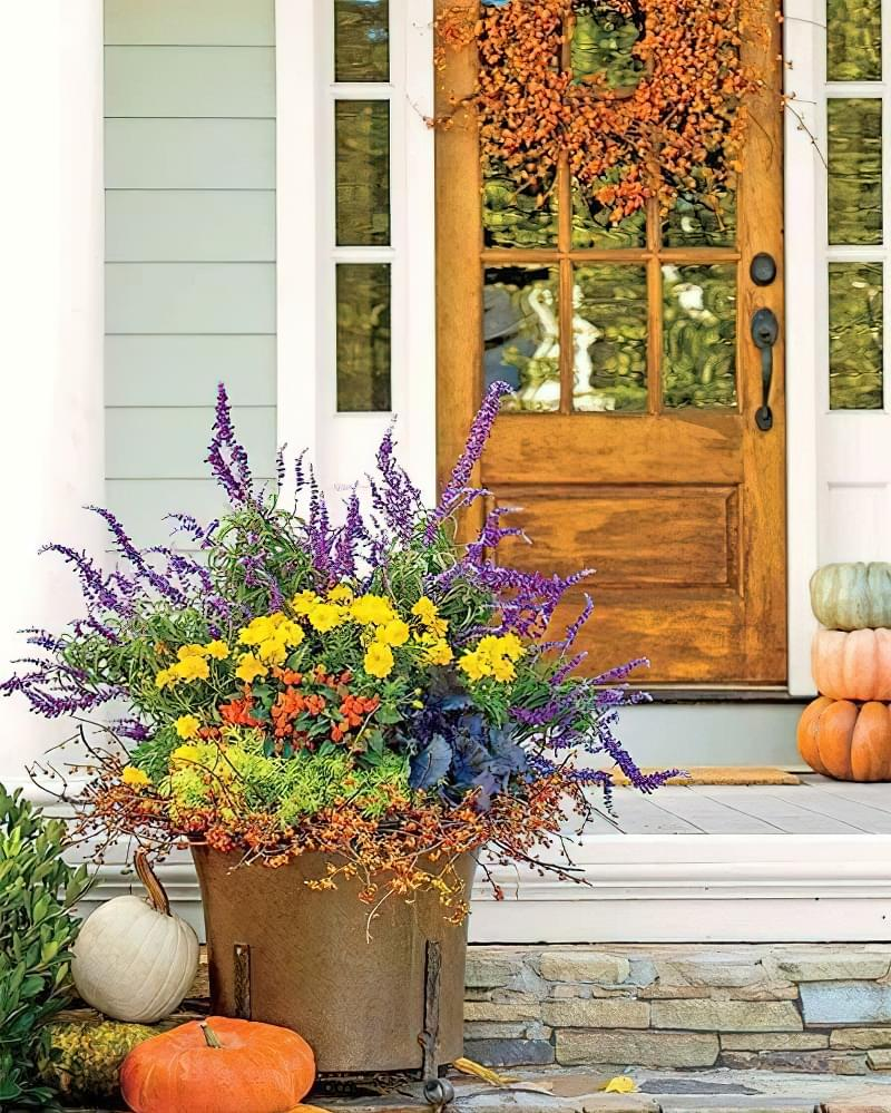 Як можна прикрасити ділянку восени 8