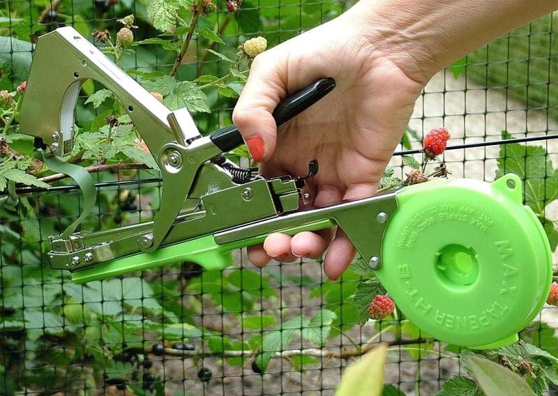 Вибираємо тапенер для підв'язування рослин 1