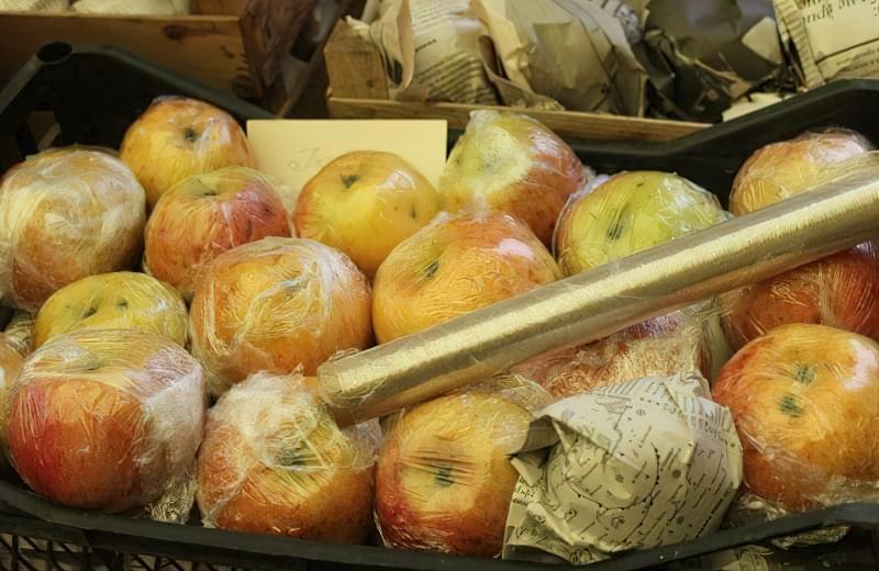 Способи і умови зберігання яблук взимку 7